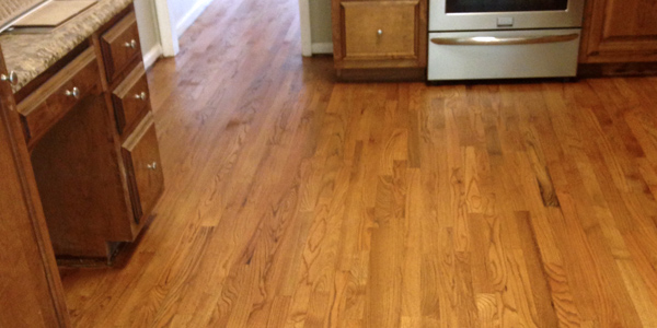The flooring of choice continues to be hardwood floors.